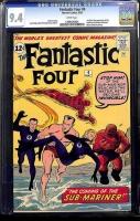 Fantastic Four #4 CGC 9.4 w