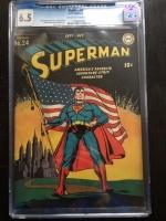 Superman #24 CGC 6.5 ow/w