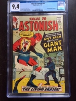 Tales to Astonish #49 CGC 9.4 ow