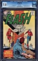 Flash #123 CGC 7.0 w