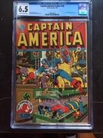 Captain America Comics #28 CGC 6.5 ow/w