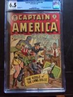 Captain America Comics #68 CGC 6.5 cr/ow
