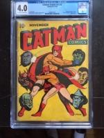 Catman Comics Vol 3 #2 CGC 4.0 ow/w