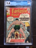 Fantastic Four #14 CGC 9.4 ow/w