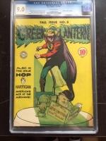 Green Lantern #8 CGC 9.0 ow
