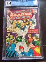 Justice League of America #21 CGC 9.4 ow/w