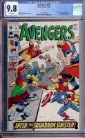 Avengers #70 CGC 9.8 w