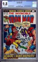 Iron Man #55 CGC 9.8 w