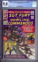 Sgt. Fury and His Howling Commandos Annual #1 CGC 9.8 w