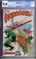 Aquaman #50 CGC 9.8 w