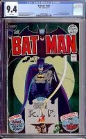 Batman #242 CGC 9.4 w
