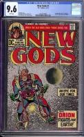 New Gods #1 CGC 9.6 w