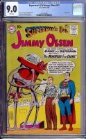 Superman's Pal Jimmy Olsen #47 CGC 9.0 w
