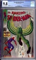 Amazing Spider-Man #48 CGC 9.8 ow/w
