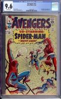 Avengers #11 CGC 9.6 ow