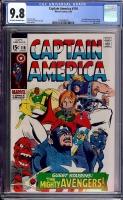 Captain America #116 CGC 9.8 ow/w