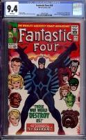 Fantastic Four #46 CGC 9.4 w