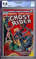 Marvel Spotlight #8 CGC 9.8 w