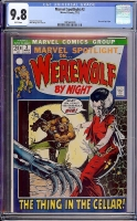 Marvel Spotlight #3 CGC 9.8 w