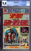 Superboy #202 CGC 9.8 w