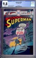 Superman #294 CGC 9.8 w