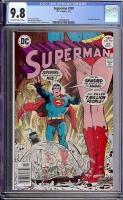 Superman #307 CGC 9.8 ow/w