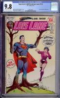 Superman's Girlfriend Lois Lane #112 CGC 9.8 ow/w