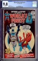 World's Finest Comics #211 CGC 9.8 w