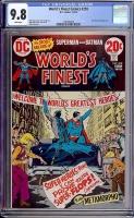 World's Finest Comics #218 CGC 9.8 w