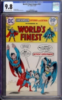 World's Finest Comics #221 CGC 9.8 ow/w