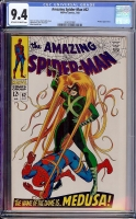 Amazing Spider-Man #62 CGC 9.4 ow/w