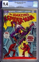 Amazing Spider-Man #136 CGC 9.4 ow/w