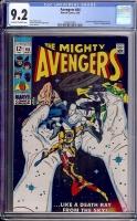 Avengers #64 CGC 9.2 ow/w