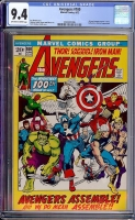 Avengers #100 CGC 9.4 ow/w