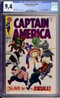 Captain America #104 CGC 9.4 w