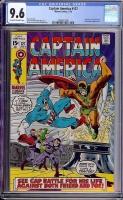 Captain America #127 CGC 9.6 ow/w