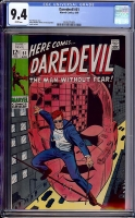 Daredevil #51 CGC 9.4 w