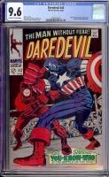 Daredevil #43 CGC 9.6 ow/w