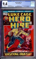 Hero For Hire #1 CGC 9.4 w