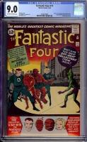 Fantastic Four #11 CGC 9.0 ow/w