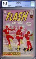 Flash #132 CGC 9.6 ow/w