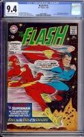 Flash #175 CGC 9.4 cr/ow