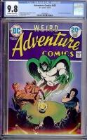 Adventure Comics #433 CGC 9.8 ow/w