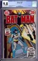 Batman #246 CGC 9.8 ow/w