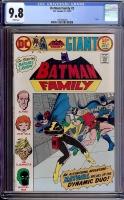 Batman Family #2 CGC 9.8 w