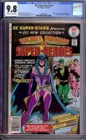 DC Super-Stars #17 CGC 9.8 ow/w