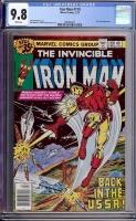 Iron Man #119 CGC 9.8 w