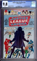 Justice League of America #123 CGC 9.8 w