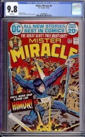 Mister Miracle #9 CGC 9.8 w