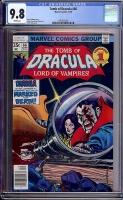 Tomb of Dracula #66 CGC 9.8 w